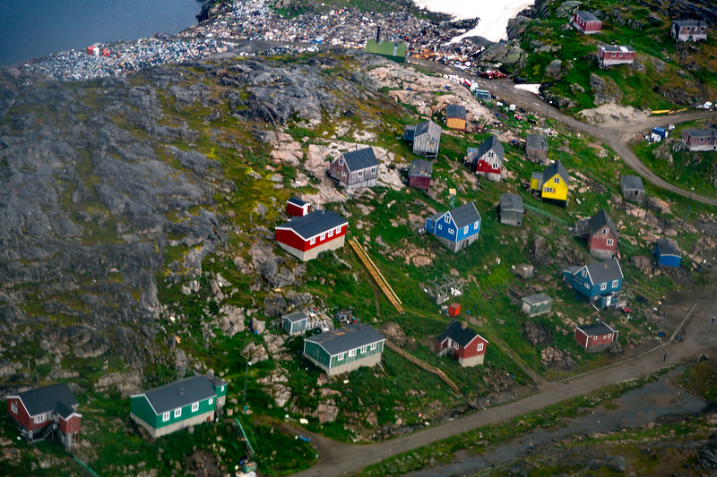 First view of Kulusuk, Greenland.
