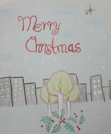 Christmas Card Art Contest 12/01/2012