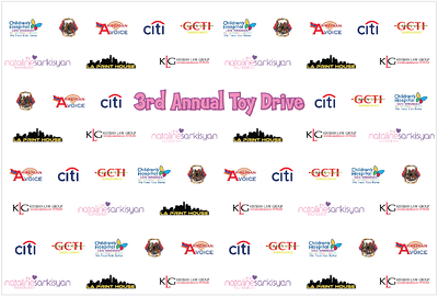 3rd Annual Toy Drive Benefiting CHlLA