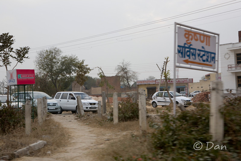 local scene in Delhi
