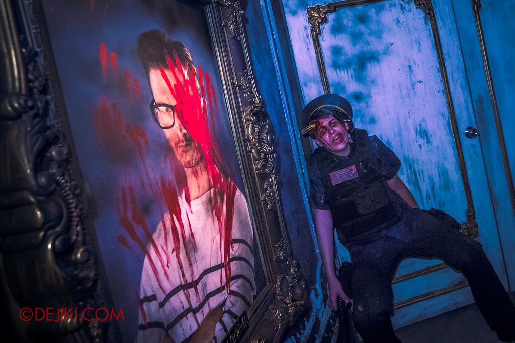 Halloween Horror Nights 6 - Bodies of Work / Damien Shipman Portrait, Security Guard