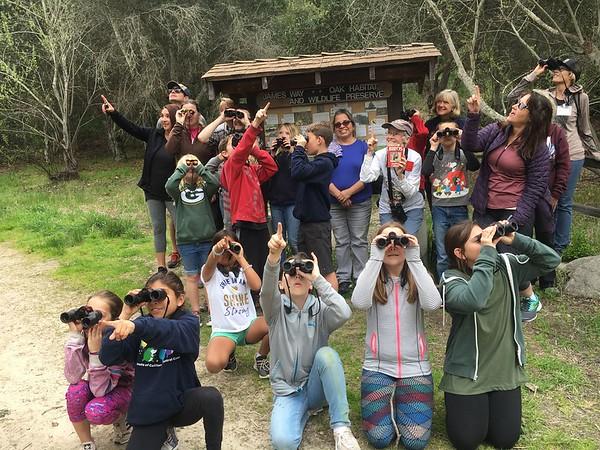 Ocean View School Oak Ambassador Bird Training