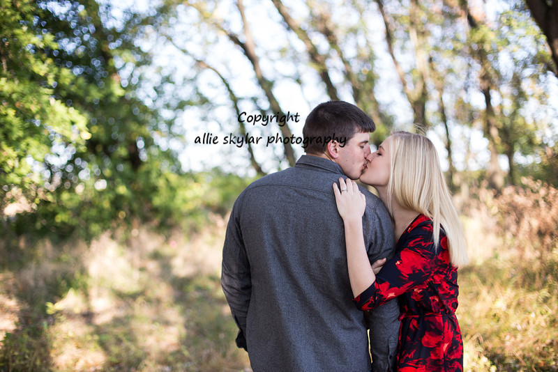 Bloomsburg Engagement Photography: Mackenzie and Zach had a stunning sunrise engagement session with a beautiful fall backdrop.  I cannot wait for their wedding next year!