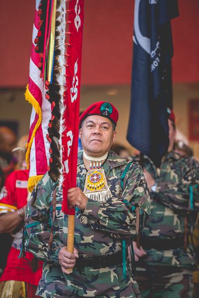 Honoring Veterans Powow