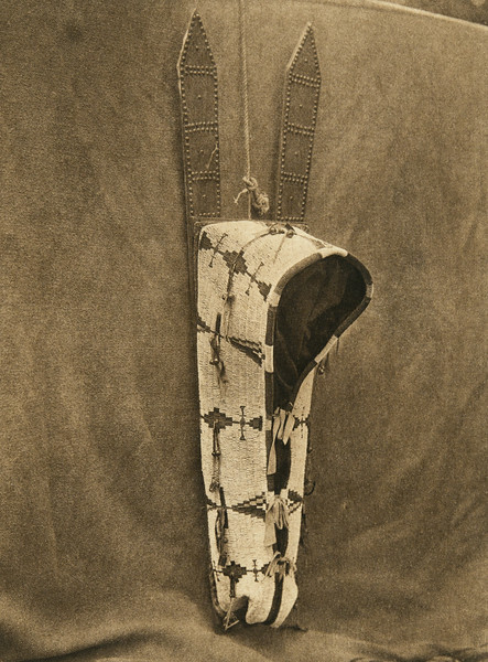 Cheyenne baby-carrier (The North American Indian, v. XIX. Norwood, MA, The Plimpton Press,  1930)