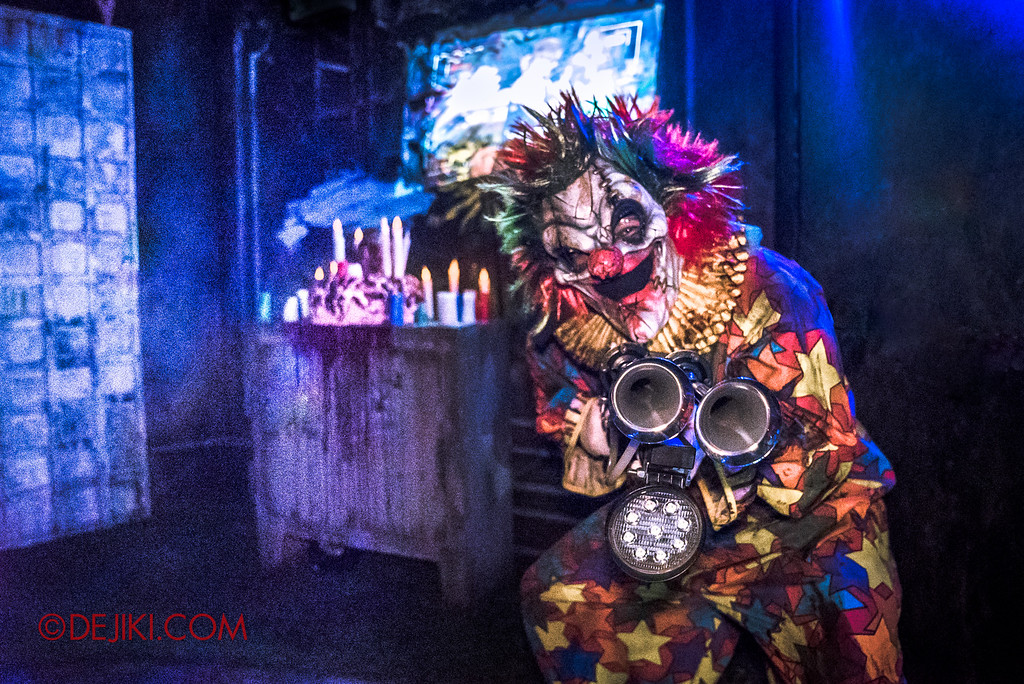 Halloween Horror Nights 6 - Bodies of Work / Killer clown