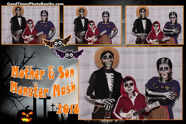 Mother  & Son Monster Mash 2018