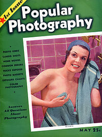 Popular Photography, May 1937 cover, courtesy of Wikipedia