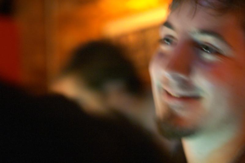 Dan, too, is enjoying himself
