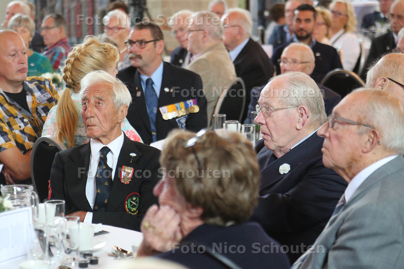 Veteranendag in de Oude kerk - NAALDWIJK 6 SEPTEMBER 2015 - FOTO NICO SCHOUTEN