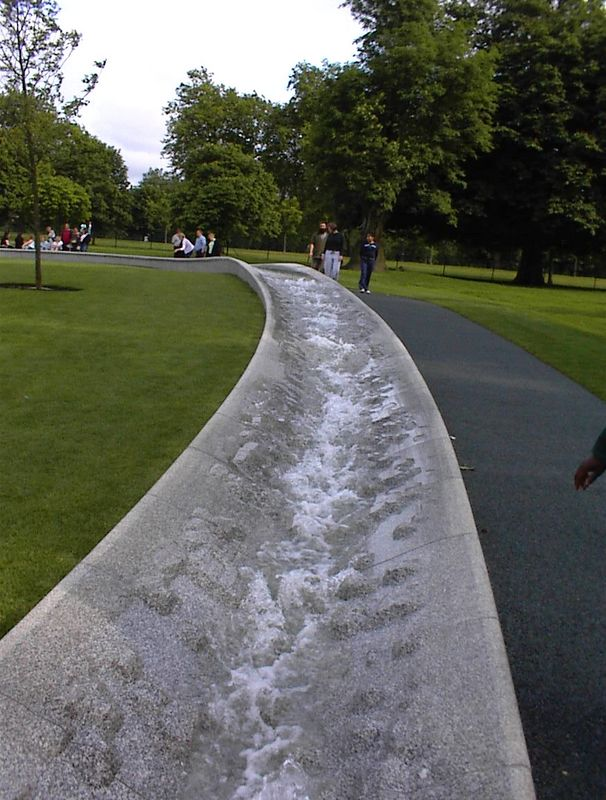 The Princess Diana Memorial Fountain, Kensington