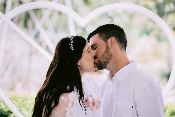 Tamara & Liam: Joncia Gardens Wedding