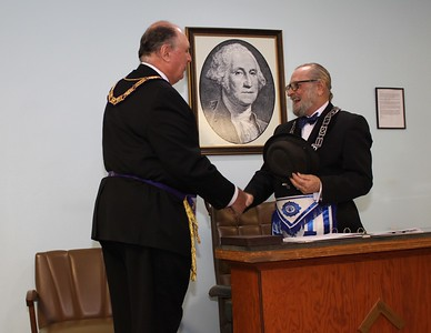 Bayou Lacombe Lodge Past Masters Night