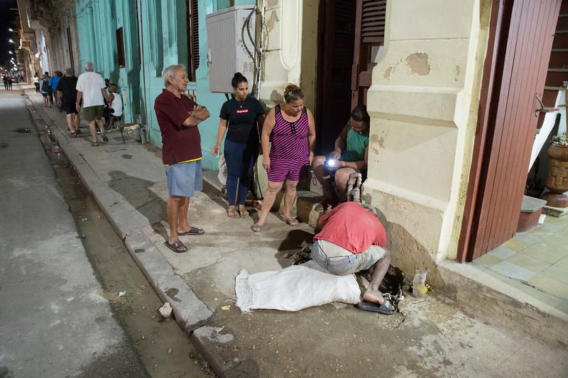Havana street scene.