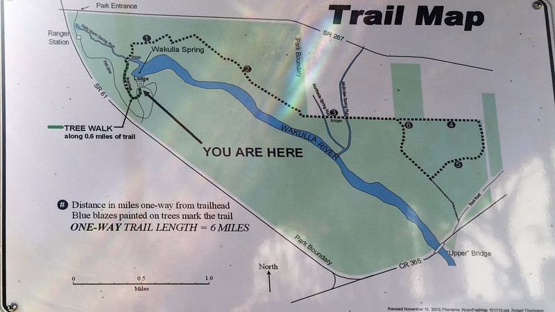 Wakulla Springs Trail Map