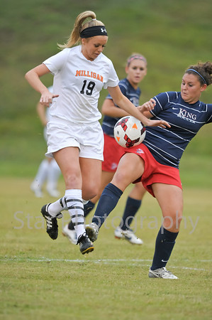 Milligan vs King Girls 09-18-2013