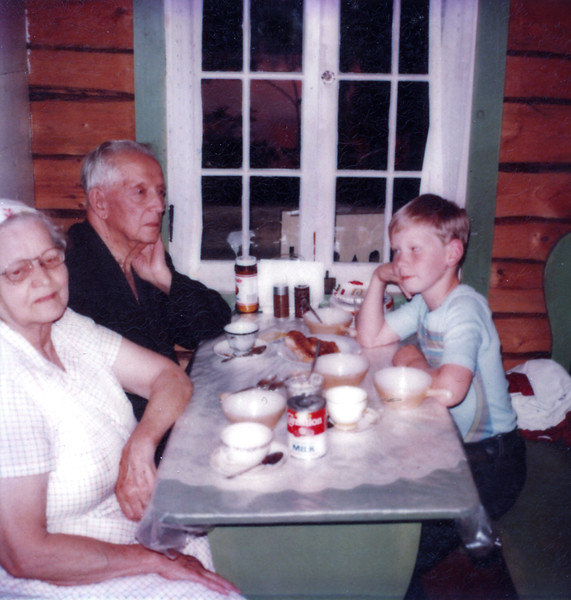 Breakfast with Great Grandparents