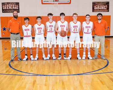 2019 - 2020 South Marshall Middle School 8th Grade Basketball
