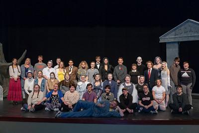 "High School Theatre - 10/31/2018 ""The Addams Family"" Dress Rehearsal"