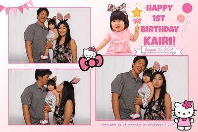 Kairi's 1st Birthday