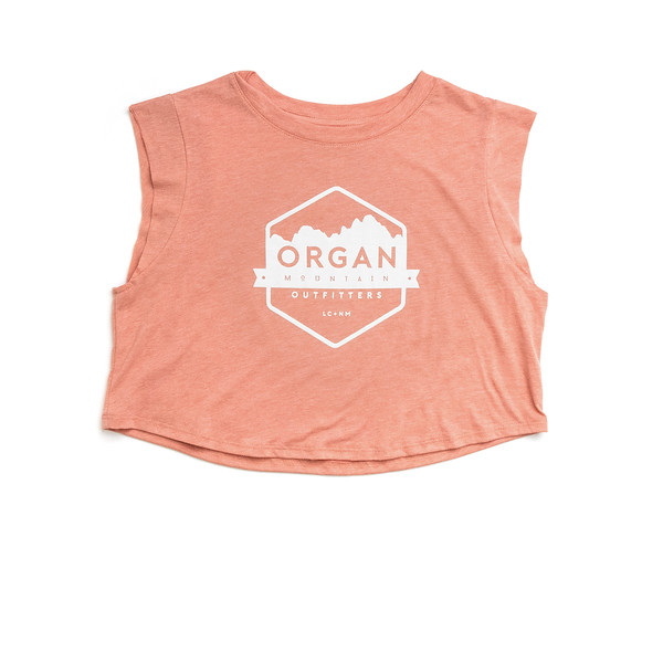 Organ Mountain Outfitters - Outdoor Apparel - Womens - Classic Festival Cropped Tank - Sunset.jpg