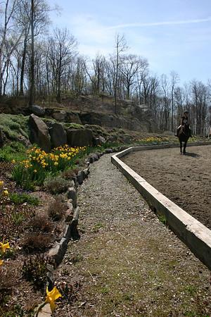 April 26, 2009 Eastward Stables in Brewster NY- garden days
