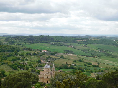 Pienza and Montepulciano