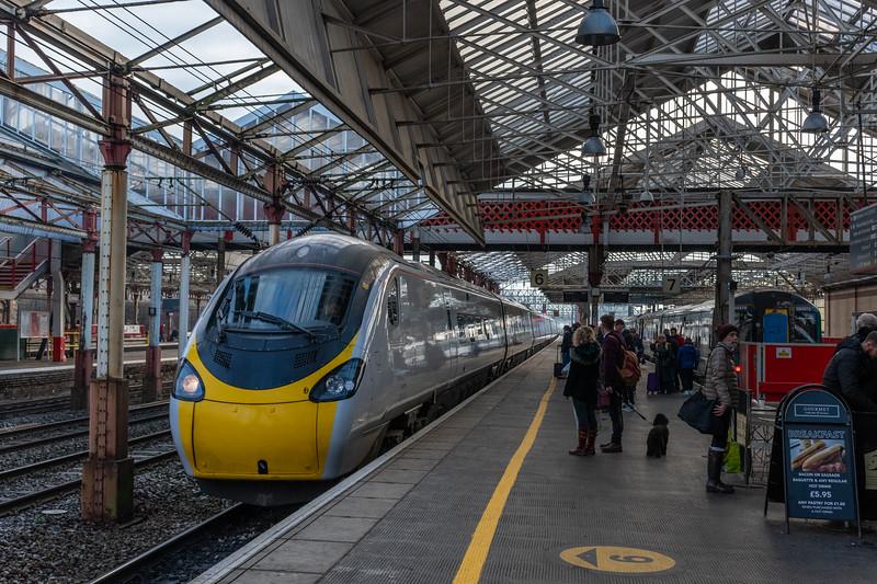 Virgin Trains Pendolino at Crewe
