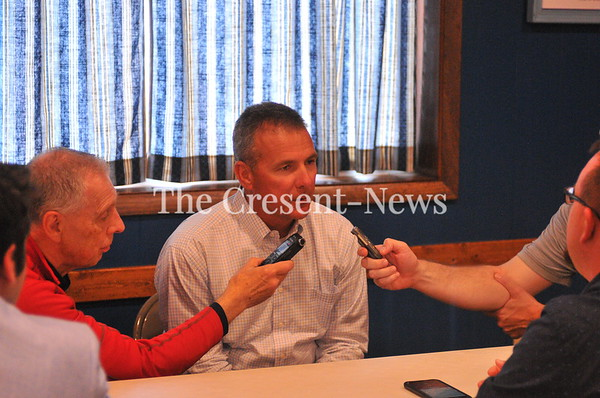 05-08-19 Sports Urban Meyer @ Ridgeville