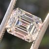 1.83ct Vintage Emerald Cut Diamond GIA F VVS2 4