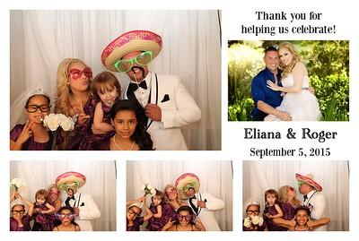 Eliana & Roger's Wedding PhotoBooth