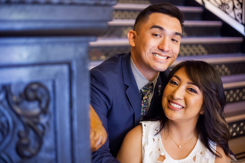 Thien and Renee's Courthouse Wedding