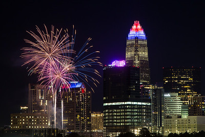 Charlotte Fireworks - July 4, 2021