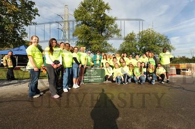 9692 Nursing Student Volunteers at Air Force Marathon 9-15-12