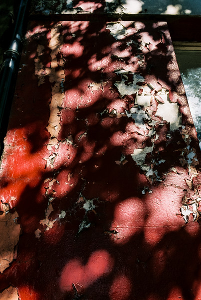 Peeling Paint and Shadows
