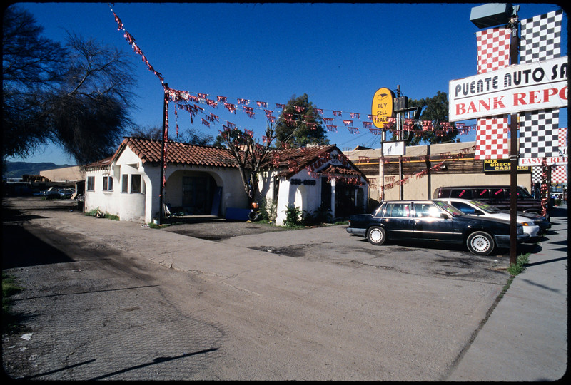 Residential buildings on Valley Boulevard, east of 7th Avenue, City of Industry, 2005