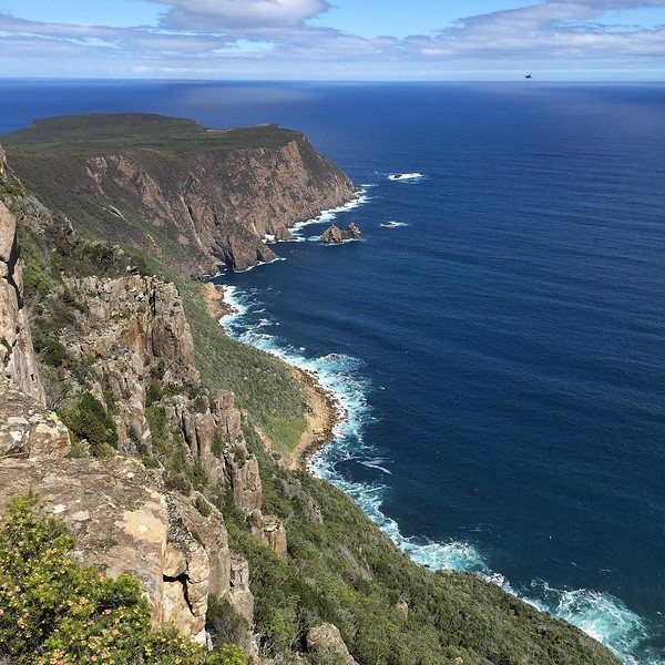 Cape Raoul track, Tasman Peninsula. Photo just as it was snapped along our 15km return hike. Not pictured: Freshly shucked oysters and Pinot Gris at Bangor Wine and Oyster Shed to close out the afternoon. This is Tassie at its best. Tasmania, Australia. via Instagram http://ift.tt/1QNfqEZ