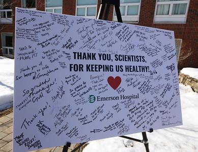 Emerson Hospital thanks Pfizer 022421