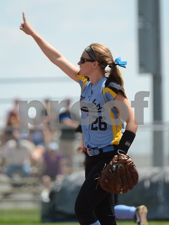 1A State Softball Quarterfinals: Lynnville-Sully VS River Valley
