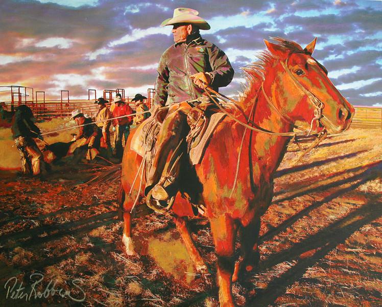 Boots Draggin Calves, 6666 Ranch