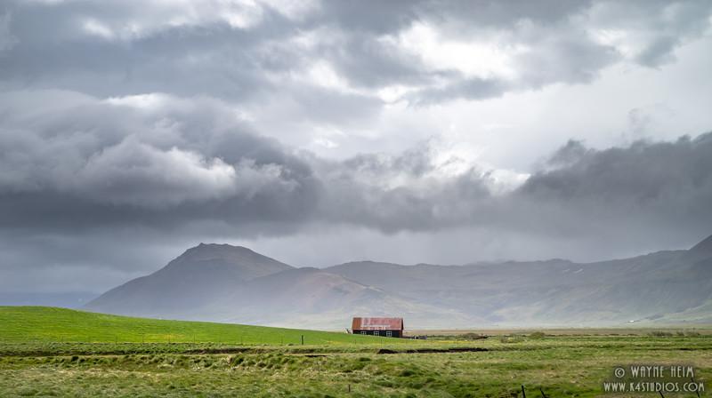 Isolated Barn   Photography by Wayne Heim