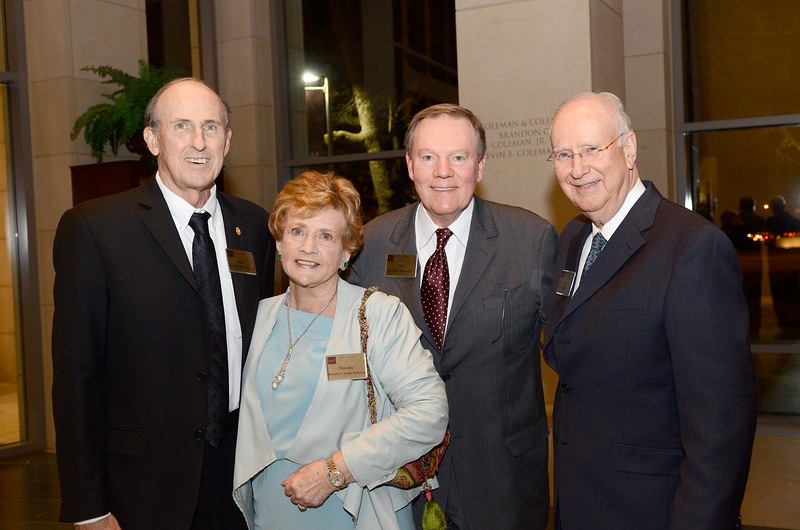Dorothy and Artie McFerrin Jr. '65, Phil Adams '70, Ed Davis '67