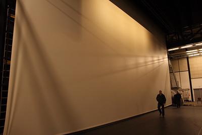 """""""Wit Licht""""  de bioscoop in de Univé zaal"""