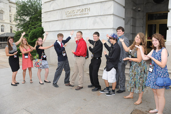 Youth Tour to Washington DC June 15-21, 2012 21265