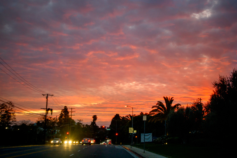 December 29 - Sunset on Sunset, just west of the 405, Los Angeles.jpg