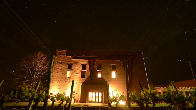 Cielo nocturno en bodega Flecha de los Andes - Mendoza - Argentina