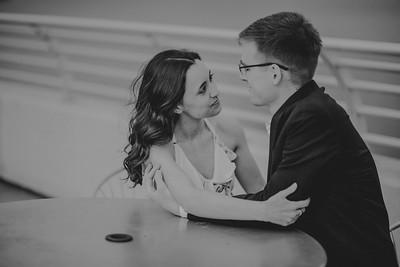 Adrienne + Anthony | Madison Engagement Session