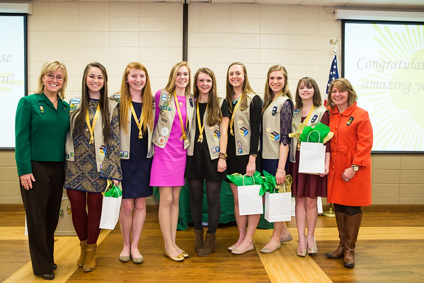 Girl Scout Gold Ceremony 2015