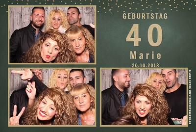 Marie's 40er