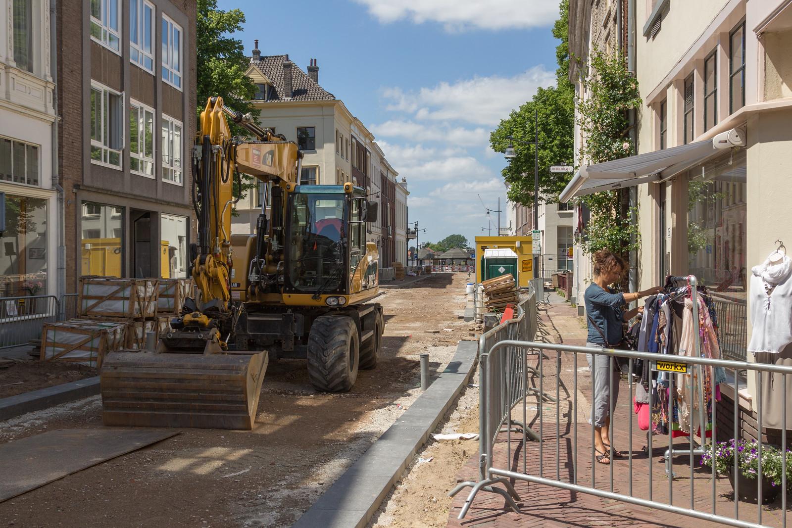 Herinrichting Marspoortstraat